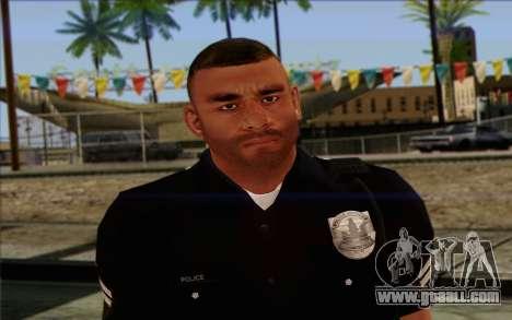 Police (GTA 5) Skin 4 for GTA San Andreas third screenshot