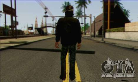 Kenny from The Walking Dead v3 for GTA San Andreas second screenshot
