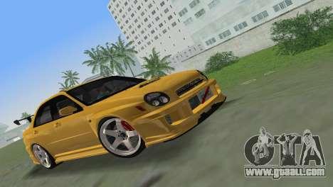 Subaru Impreza WRX 2002 Type 5 for GTA Vice City