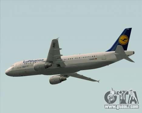 Airbus A320-211 Lufthansa for GTA San Andreas