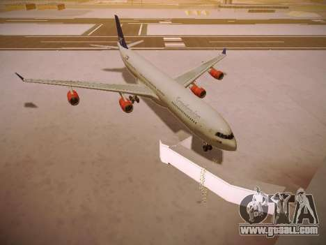 Airbus A340-300 Scandinavian Airlines for GTA San Andreas