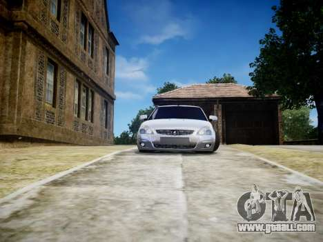 VAZ 2170 for GTA 4 back left view