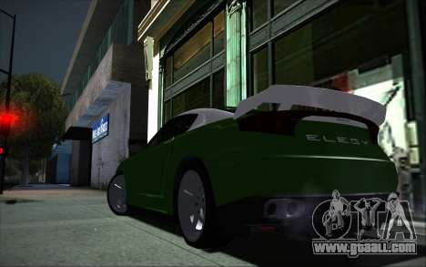 Elegy RH8 Tunable v1 for GTA San Andreas right view