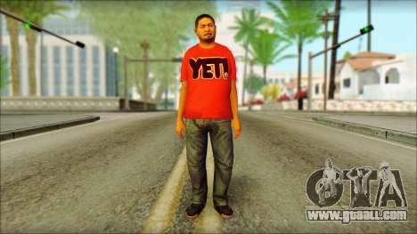 GTA 5 Ped 22 for GTA San Andreas