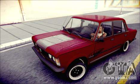 Fiat 125P Shark for GTA San Andreas