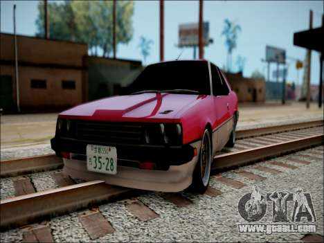 Nissan Skyline GT-R R30 for GTA San Andreas back left view