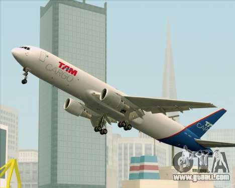 Boeing 767-300ER F TAM Cargo for GTA San Andreas