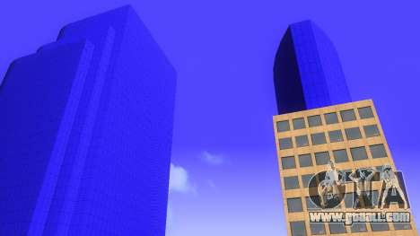 HD texture four skyscrapers in Los Santos for GTA San Andreas sixth screenshot