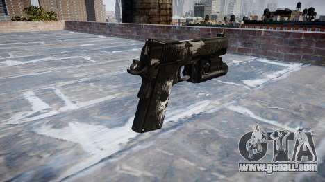 Gun Kimber 1911 Ghosts for GTA 4 second screenshot