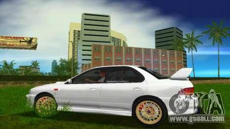 Subaru Impreza WRX STI GC8 Sedan Type 3 for GTA Vice City back view