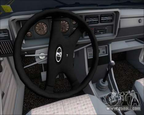 LADA 2107 for GTA San Andreas engine