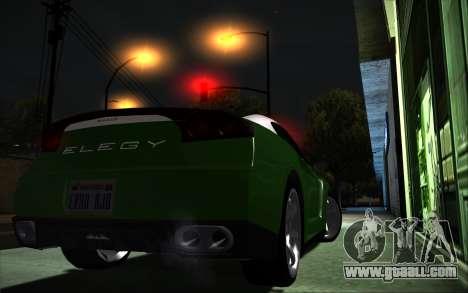 Elegy RH8 Tunable v1 for GTA San Andreas left view