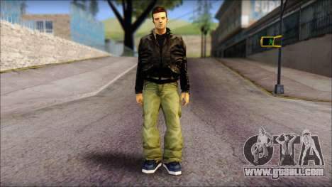 GTA 3 Claude Ped for GTA San Andreas