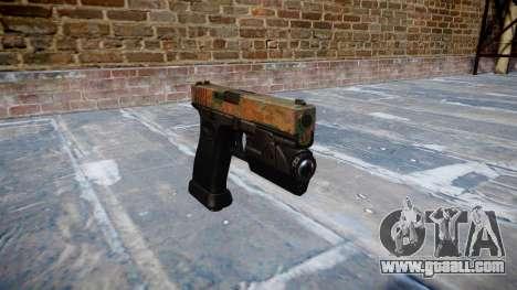 Pistol Glock 20 jungle for GTA 4