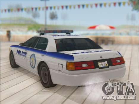 Admiral Police for GTA San Andreas bottom view