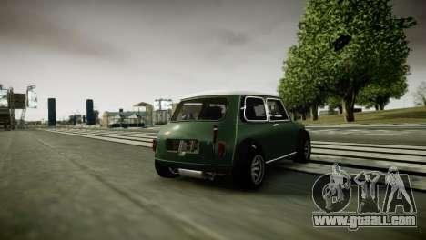 Mini Cooper RWD for GTA 4 right view