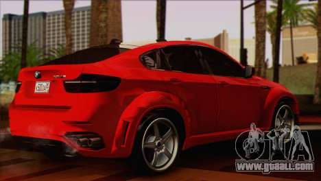 BMW X6M Lumma for GTA San Andreas left view