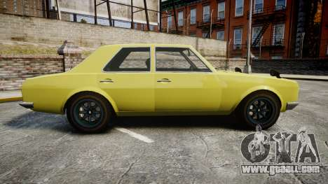 Vulcar Warrener for GTA 4 left view
