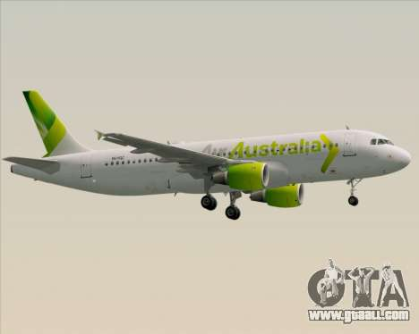 Airbus A320-200 Air Australia for GTA San Andreas right view