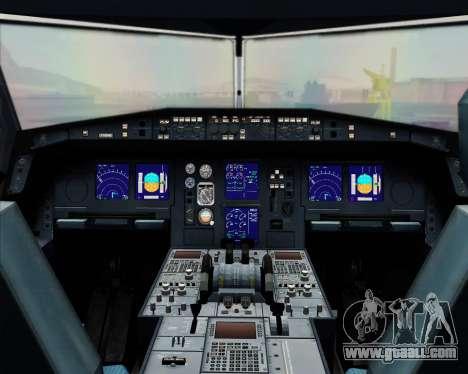 Airbus A330-300 Finnair (Current Livery) for GTA San Andreas interior