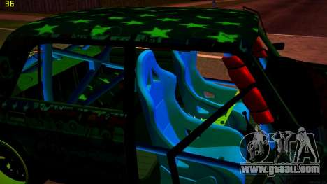VAZ 2105 Drift for GTA San Andreas upper view