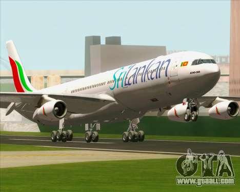 Airbus A340-313 SriLankan Airlines for GTA San Andreas