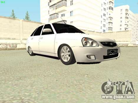 Lada 2172 Priora for GTA San Andreas back view