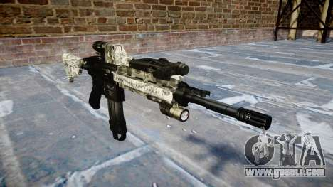Automatic rifle Colt M4A1 benjamins for GTA 4