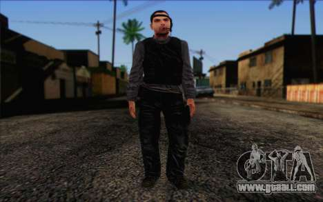 Reynolds from ArmA II: PMC for GTA San Andreas