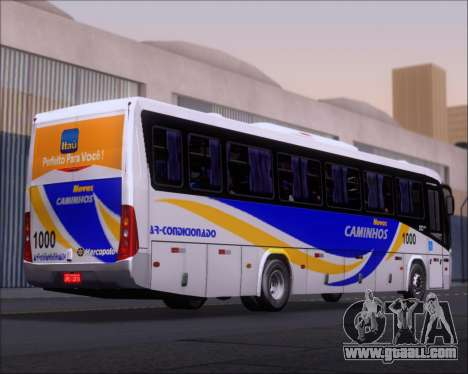 Marcopolo Ideale 770 - Volksbus 17-230 EOD for GTA San Andreas back view
