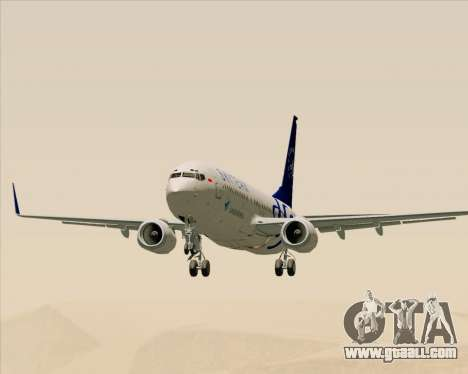 Boeing 737-86N Garuda Indonesia for GTA San Andreas inner view