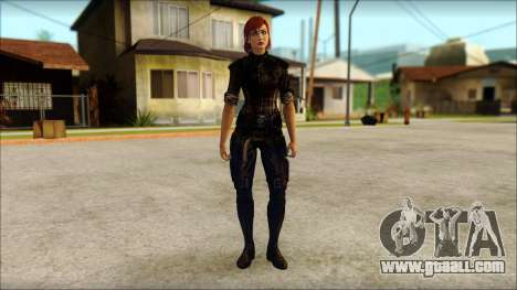 Mass Effect Anna Skin v9 for GTA San Andreas