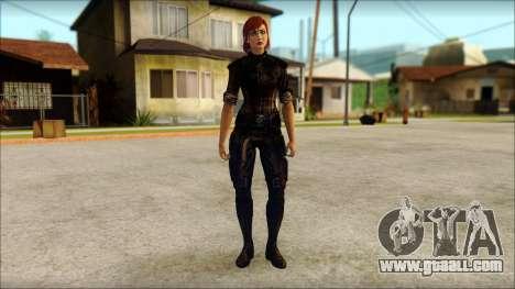 Mass Effect Anna Skin v9 for GTA San Andreas