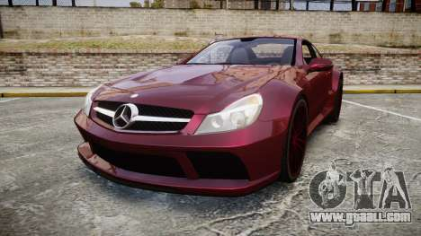 Mercedes-Benz SL 65 AMG Black Series for GTA 4