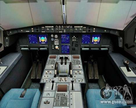 Airbus A340-313 China Airlines for GTA San Andreas interior