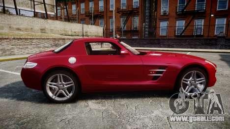 Mercedes-Benz SLS AMG [EPM] for GTA 4 left view