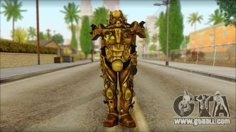 Enclave Tesla Soldier from Fallout 3 for GTA San Andreas