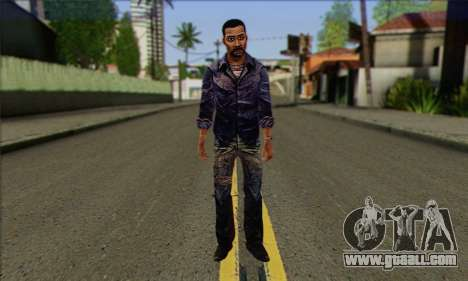 Lee from Walking Dead for GTA San Andreas