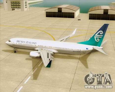 Boeing 737-800 Air New Zealand for GTA San Andreas interior