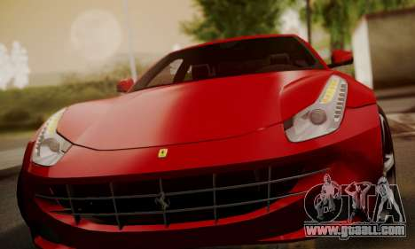 Ferrari FF 2012 for GTA San Andreas side view