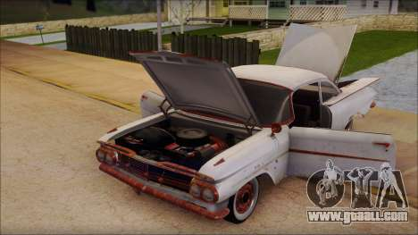 Chevrolet Biscayne 1959 Ratlook for GTA San Andreas back view