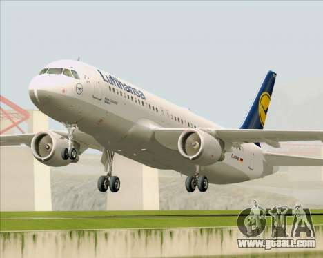 Airbus A320-211 Lufthansa for GTA San Andreas left view