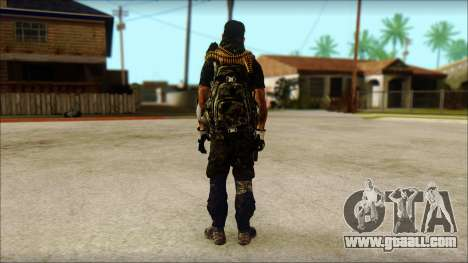 Australian Resurrection Skin from COD 5 for GTA San Andreas second screenshot