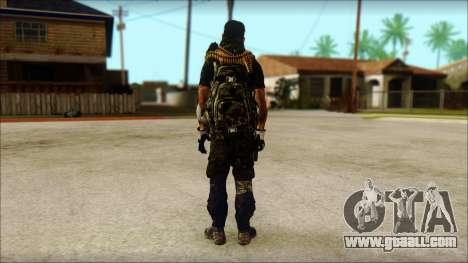 Australian Resurrection Skin from COD 5 for GTA San Andreas second screenshot