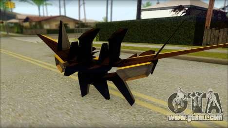 Machine Wing Jetpack for GTA San Andreas