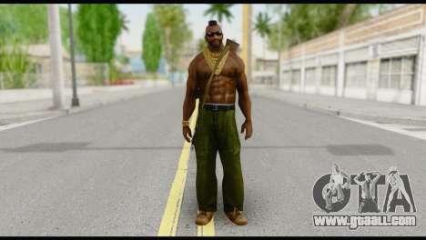 MR T Skin v7 for GTA San Andreas