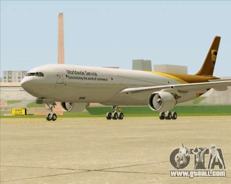 Airbus A330-300P2F UPS Airlines for GTA San Andreas right view