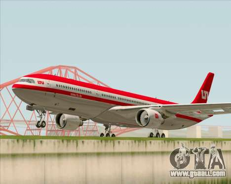 Airbus A330-300 LTU International for GTA San Andreas left view