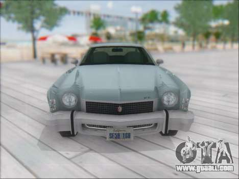 Chevrolet Monte Carlo 1973 for GTA San Andreas back left view