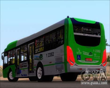 Caio Induscar Millennium BRT Viacao Gato Preto for GTA San Andreas wheels